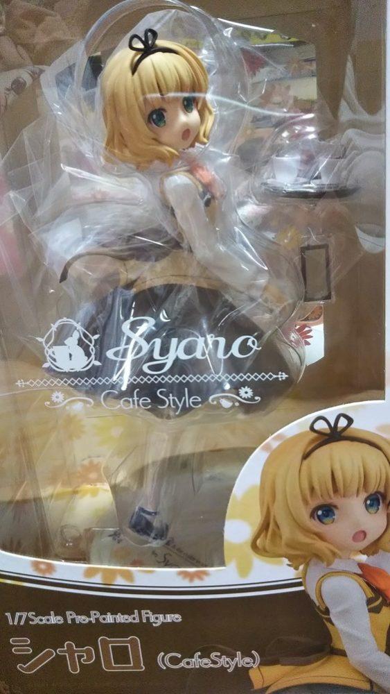 【カフェインファイター】シャロちゃんのフィギュアがついに販売!さっそくお迎えです!他