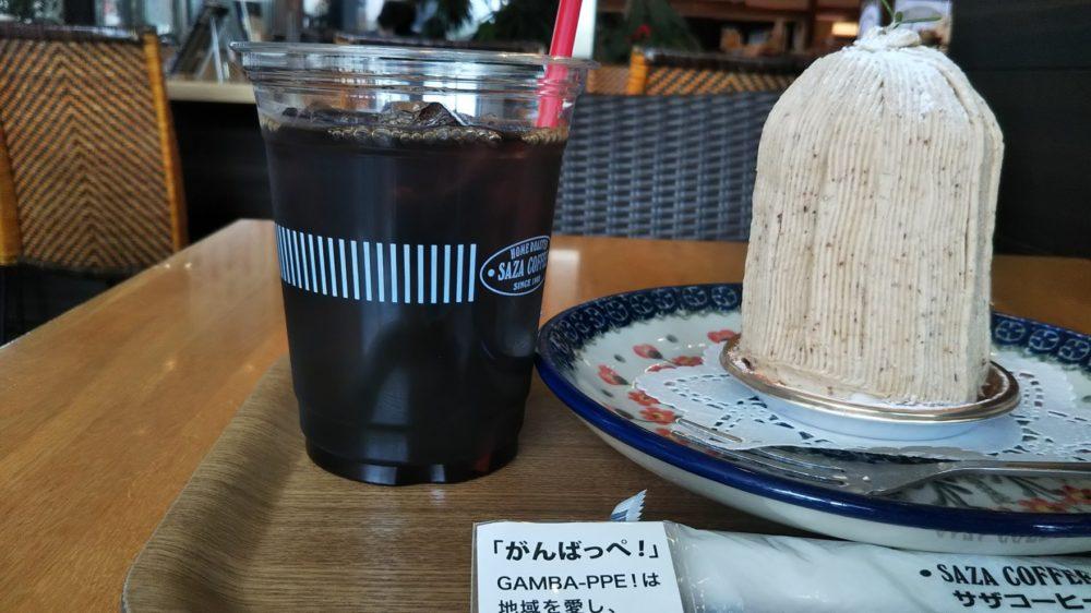 【サザコーヒー×ガルパン】マリー様のモンブランケーキ、大人気です!