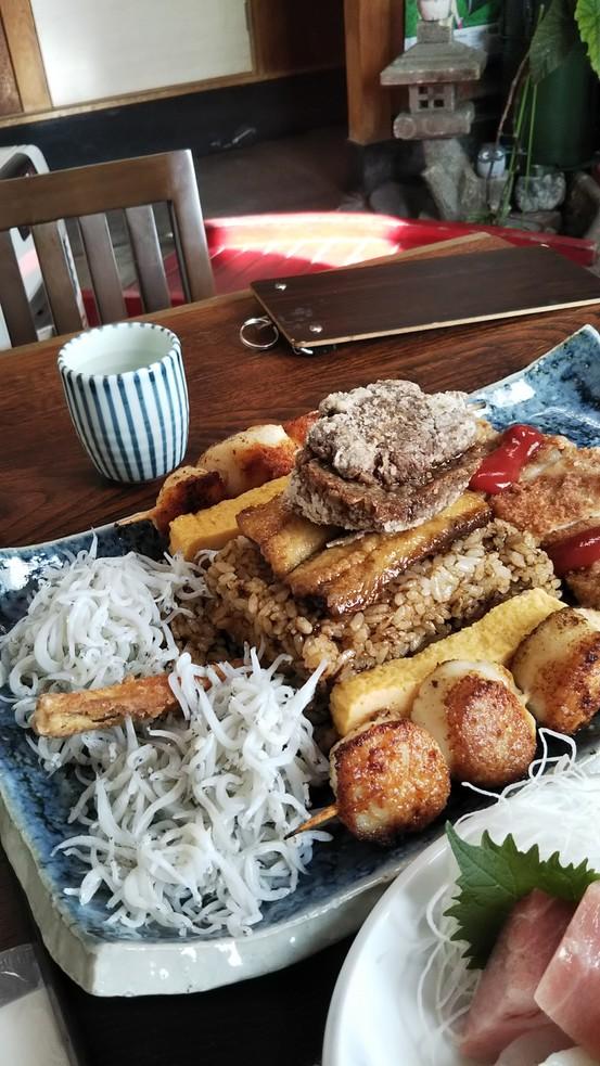 【大洗×ガルパン】戦車丼を食べつくせ!味処大森です! ガルパンパネルめぐり